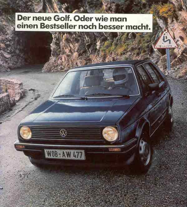 Vw Quote New Vwvortex  1983 European Golf Ii Brochure